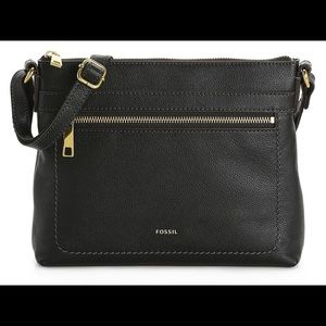 Fossil Evie Leather Crossbody!! Nwt!!